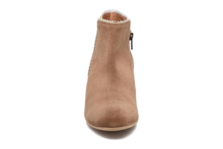 Bottines et boots Georgia Rose Celijo Marron vue portées chaussures