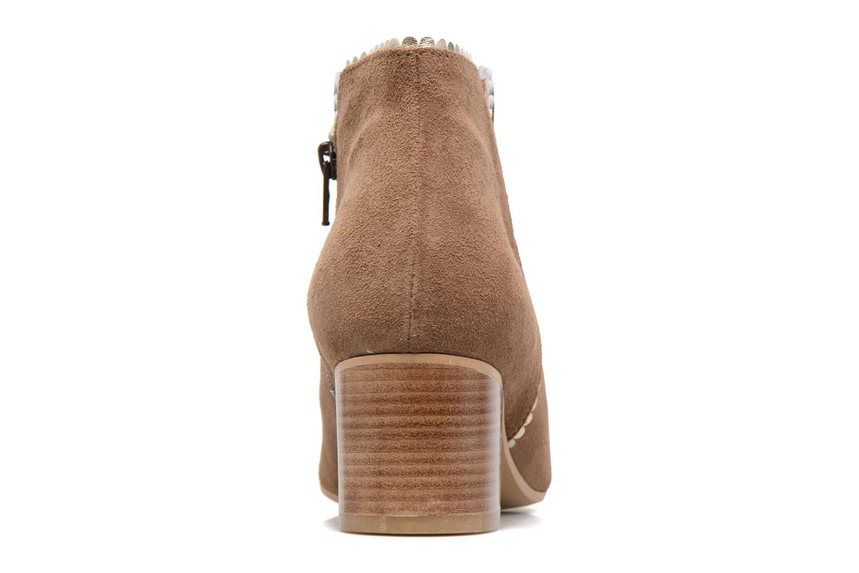 Bottines et boots Georgia Rose Celijo Marron vue droite