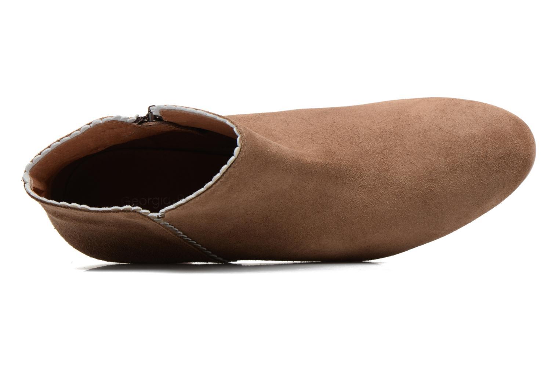 Bottines et boots Georgia Rose Celijo Marron vue gauche