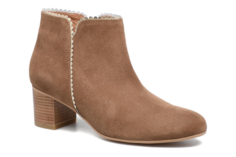Bottines et boots Georgia Rose Celijo Marron vue détail/paire