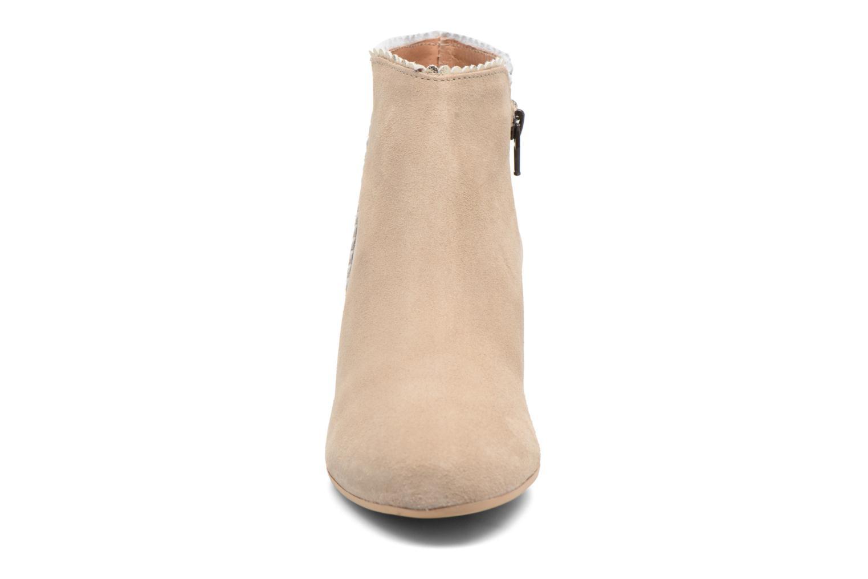 Bottines et boots Georgia Rose Celijo Beige vue portées chaussures