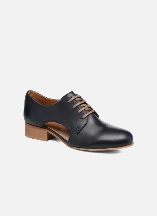 Chaussures à lacets Georgia Rose Celange Bleu vue détail/paire