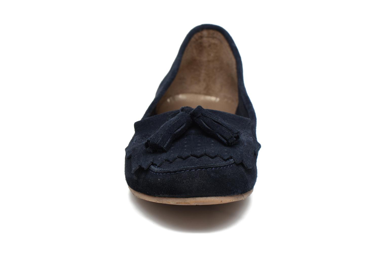 Mocassins Georgia Rose Cepom Bleu vue portées chaussures