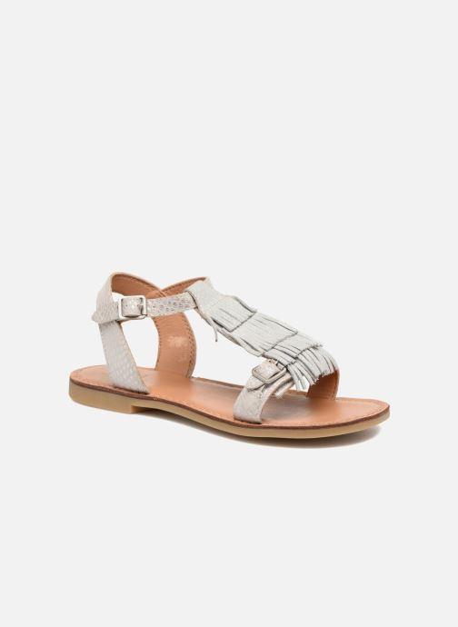 Sandales et nu-pieds Shwik Lazar Bi Fringe Argent vue détail/paire