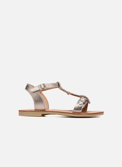 Sandales et nu-pieds Shwik Lazar Bi Fringe Or et bronze vue derrière