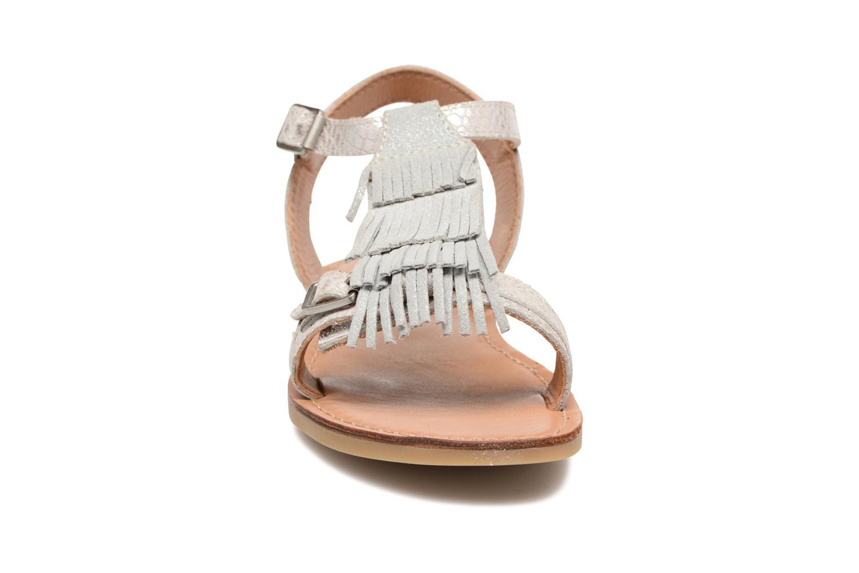 Sandals Shwik Lazar Bi Fringe Silver model view