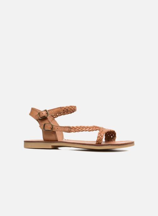 Sandales et nu-pieds Shwik Lazar Bi Stripes Marron vue derrière