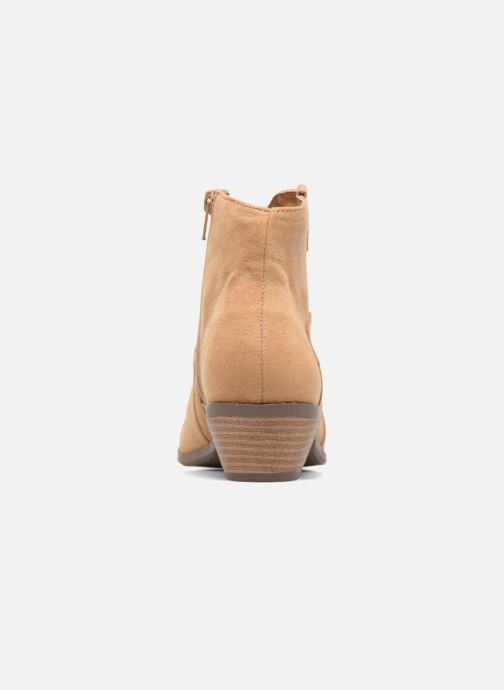 Ankle boots Dorothy Perkins Madds Beige view from the right