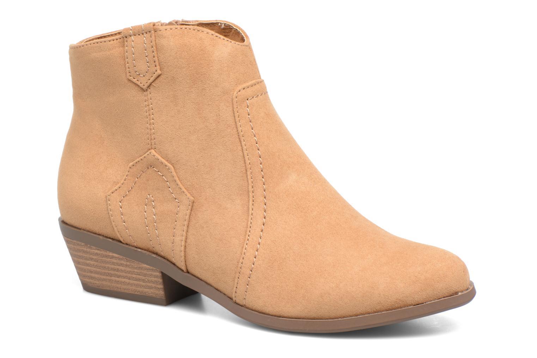Ankelstøvler Dorothy Perkins Madds Gul detaljeret billede af skoene