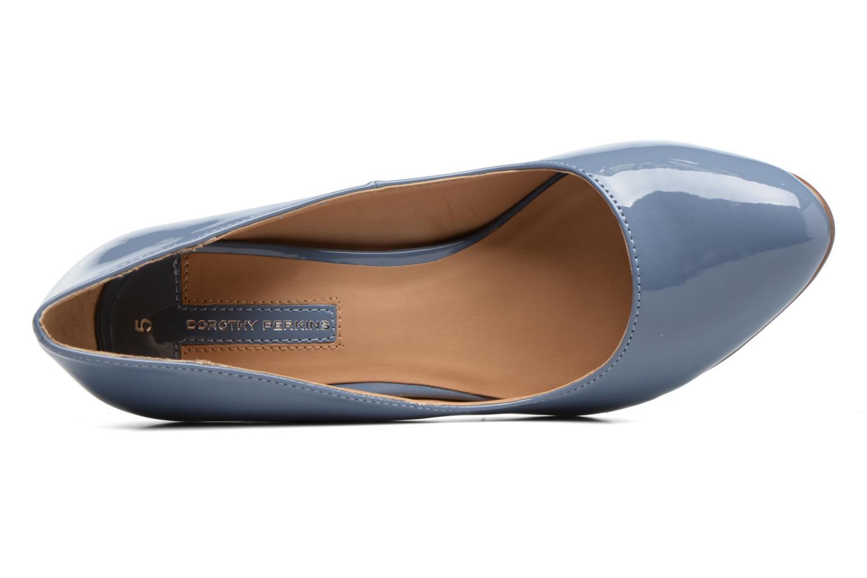 Zapatos de tacón Dorothy Perkins Dafney Azul vista lateral izquierda