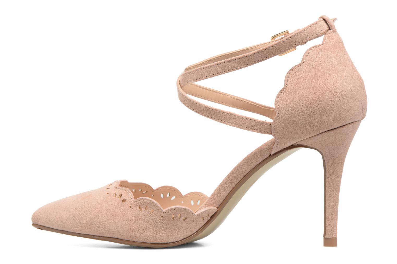Zapatos de tacón Dorothy Perkins Genna Beige vista de frente