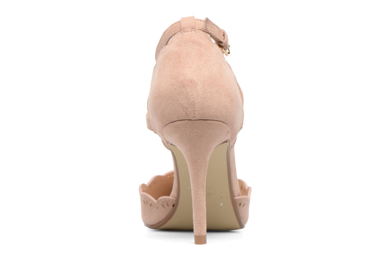 Zapatos de tacón Dorothy Perkins Genna Beige vista lateral derecha