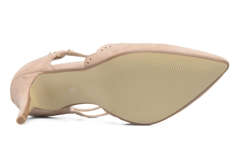 Zapatos de tacón Dorothy Perkins Genna Beige vista de arriba