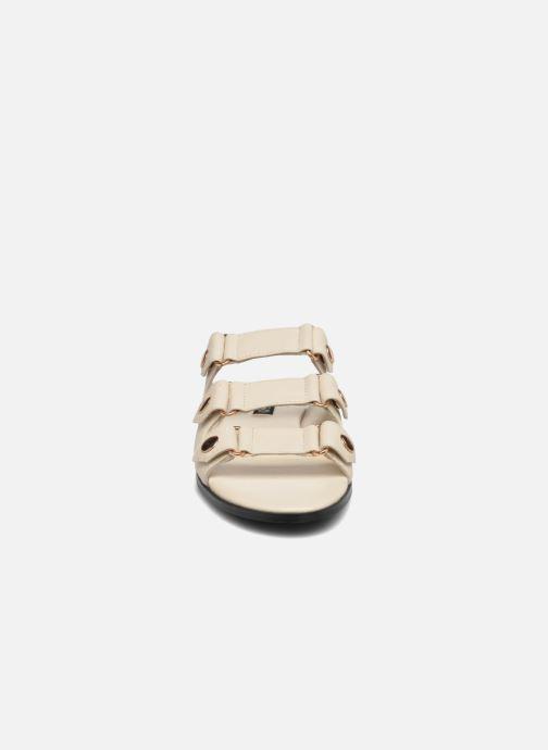 Zoccoli SENSO Floyd Bianco modello indossato