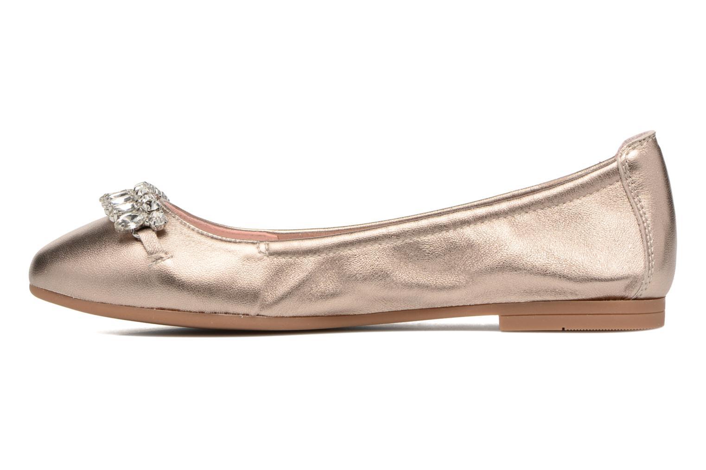 Ballerinas Unisa Diamon gold/bronze ansicht von vorne