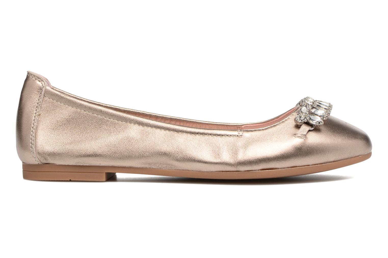 Ballerinas Unisa Diamon gold/bronze ansicht von hinten