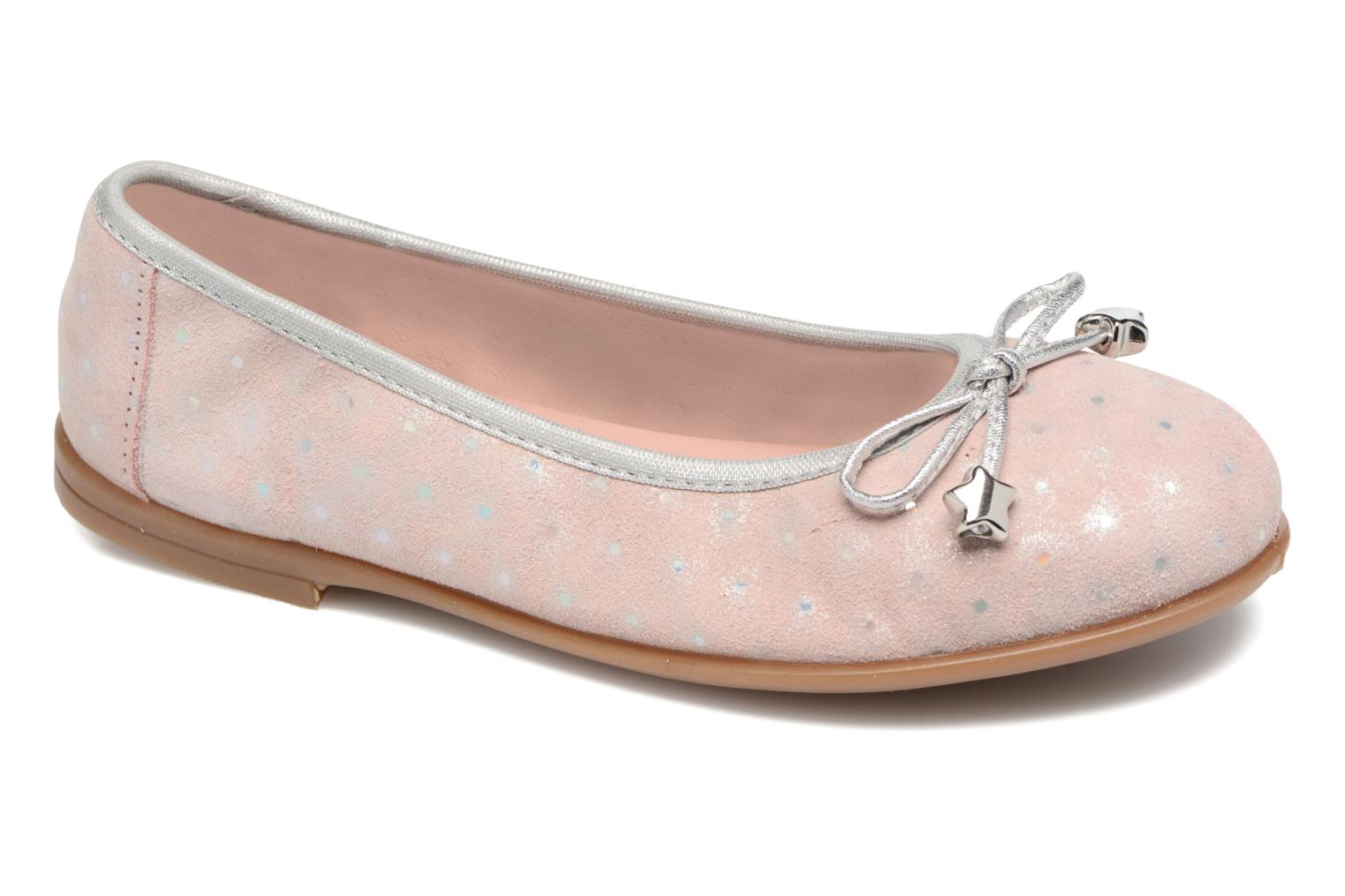 Ballet pumps Unisa Sasha Pink detailed view/ Pair view