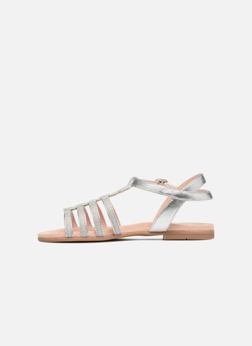 Sandales et nu-pieds Unisa Lotre Argent vue face