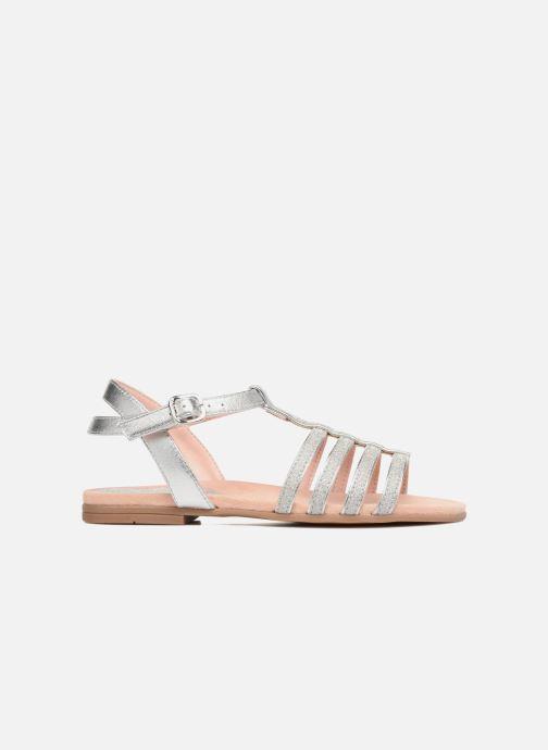 Sandales et nu-pieds Unisa Lotre Argent vue derrière