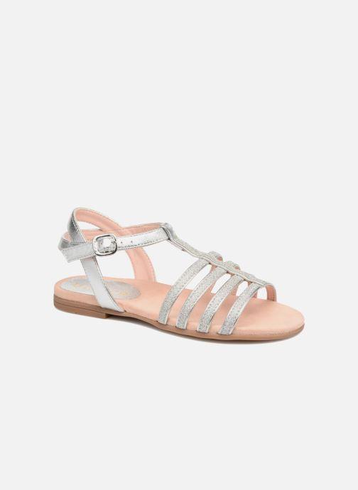 Sandales et nu-pieds Unisa Lotre Argent vue détail/paire