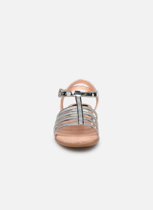 Sandales et nu-pieds Unisa Lotre Argent vue portées chaussures