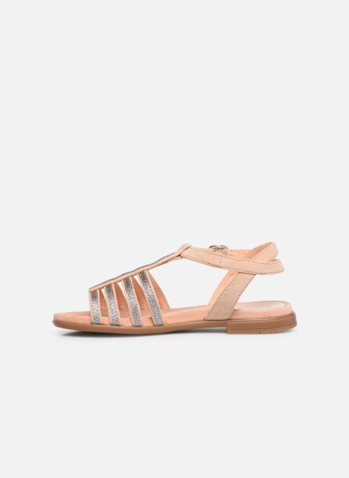Sandales et nu-pieds Unisa Lotre Or et bronze vue face