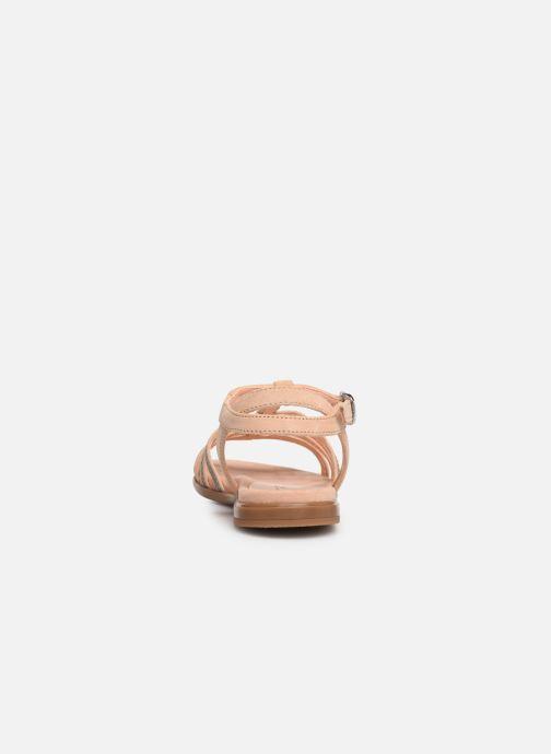 Sandales et nu-pieds Unisa Lotre Or et bronze vue droite
