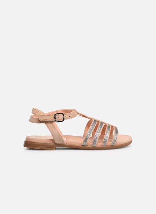 Sandales et nu-pieds Unisa Lotre Or et bronze vue derrière