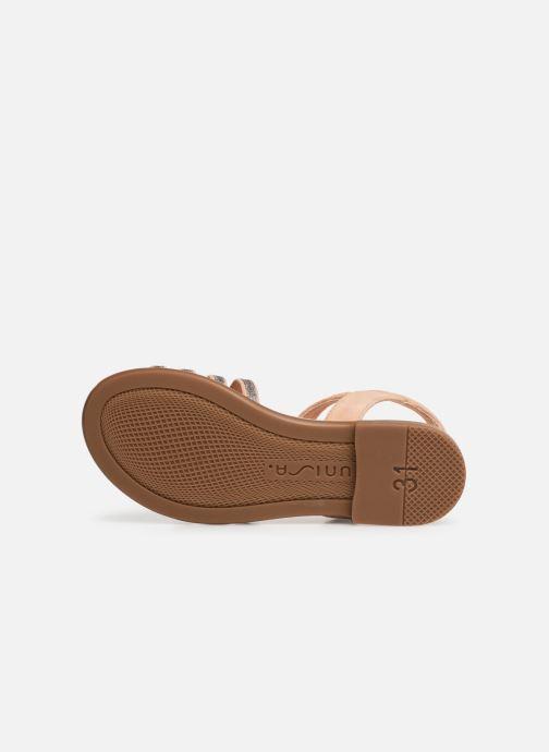 Sandali e scarpe aperte Unisa Lotre Oro e bronzo immagine dall'alto