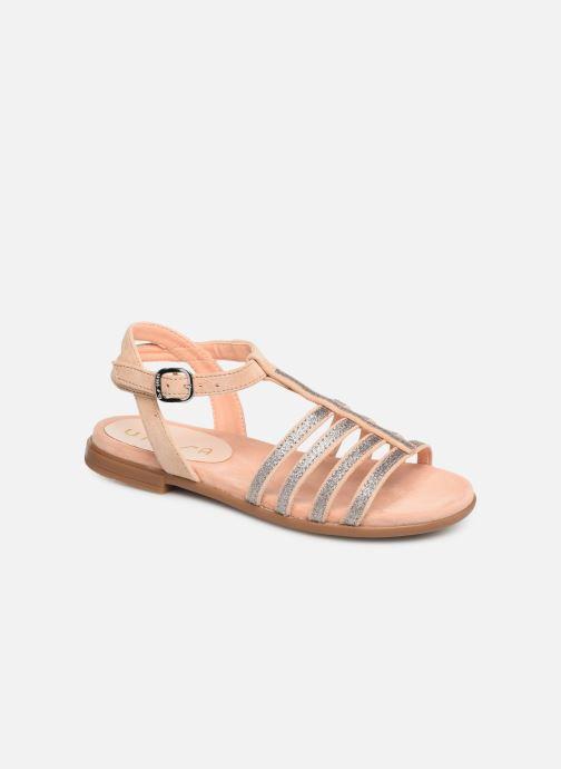 Sandales et nu-pieds Unisa Lotre Or et bronze vue détail/paire