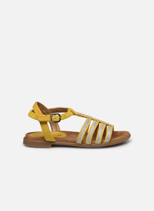 Sandales et nu-pieds Unisa Lotre Jaune vue derrière