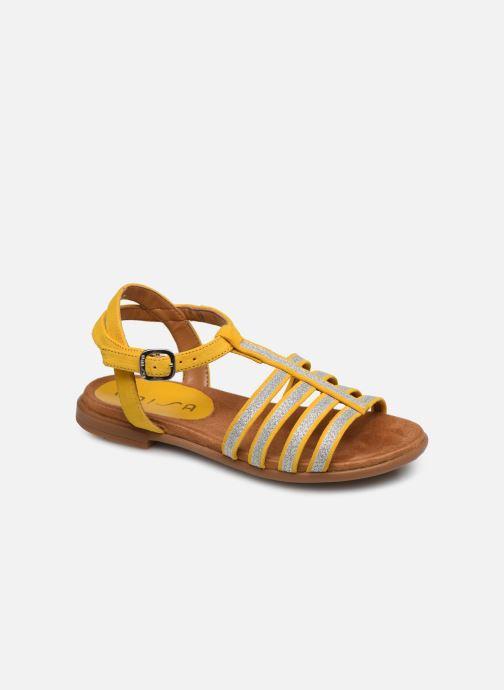 Sandales et nu-pieds Unisa Lotre Jaune vue détail/paire