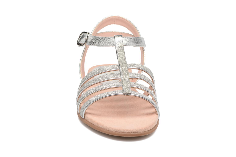 Sandalen Unisa Lotre silber schuhe getragen