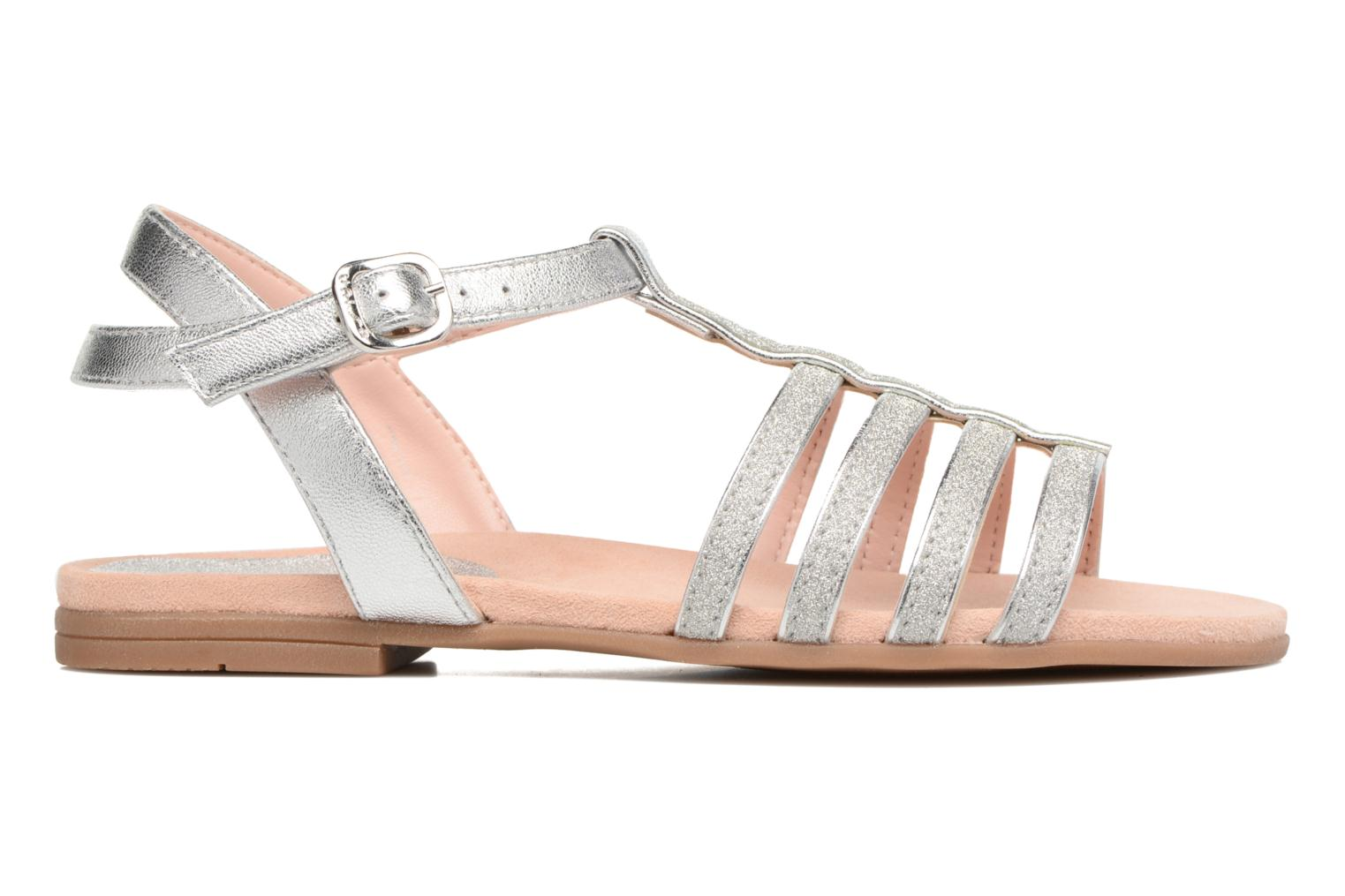 Sandals Unisa Lotre Silver back view