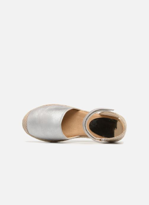 Scarpe di corda Unisa Yixo Argento immagine sinistra