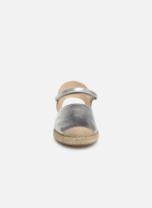 Espadrilles Unisa Yixo Or et bronze vue portées chaussures
