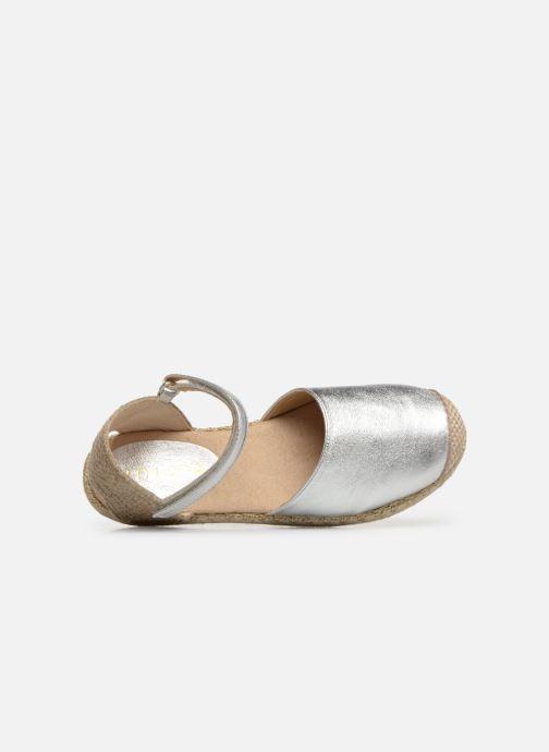 Espadrilles Unisa Yixo gold/bronze ansicht von links