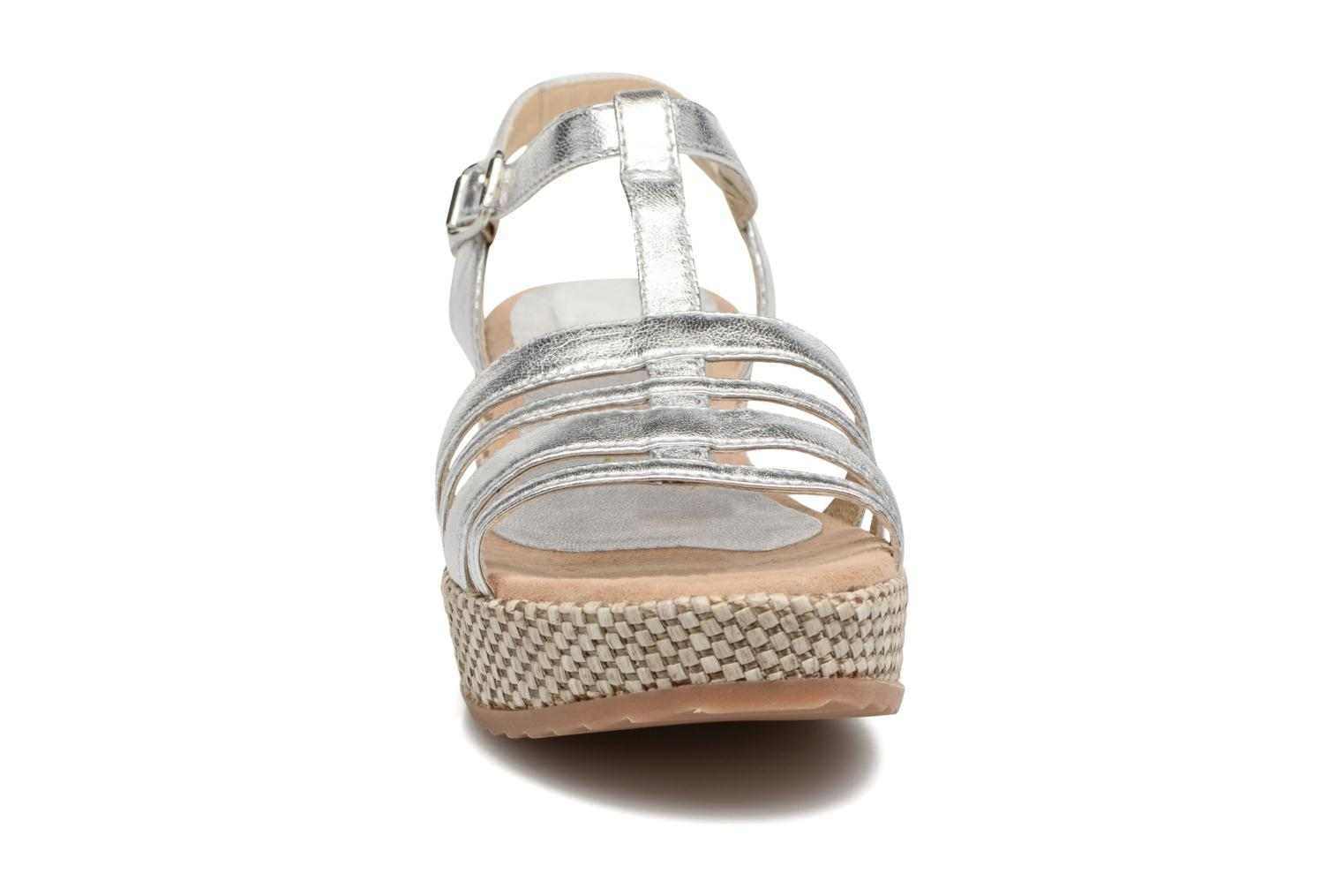 Sandals Unisa Ticor Silver model view