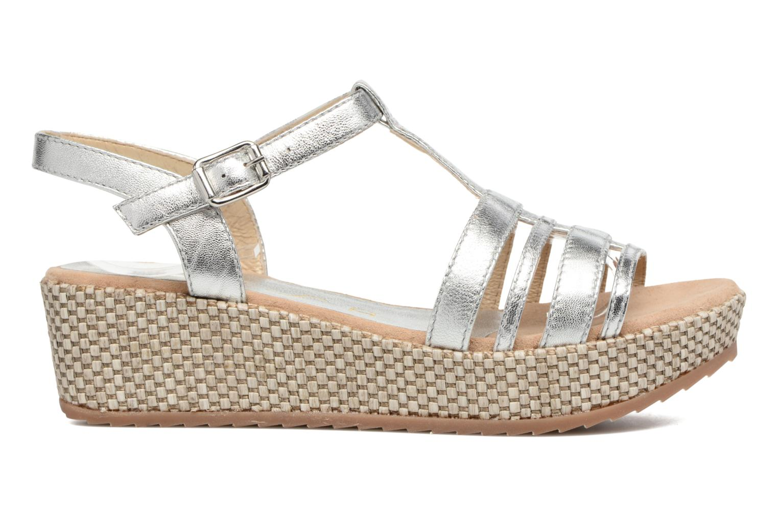Sandals Unisa Ticor Silver back view