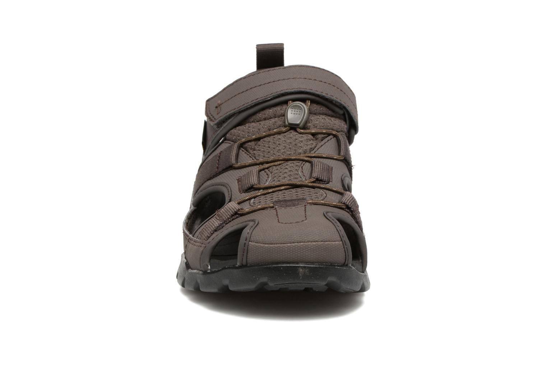 Sandali e scarpe aperte Teva Forebay 2 Grigio modello indossato