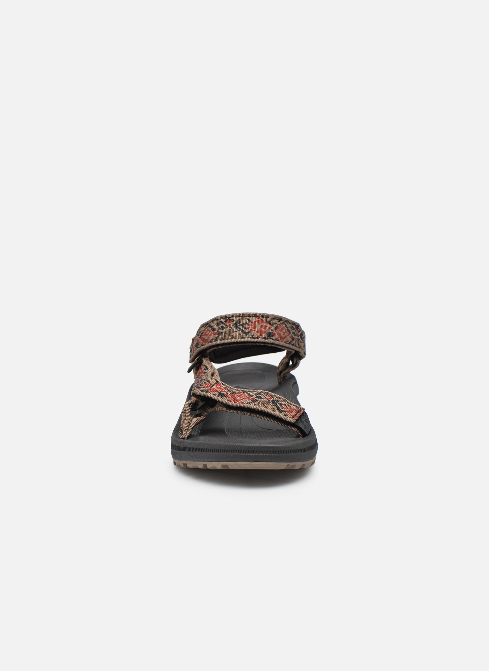 Sandales et nu-pieds Teva Winsted Marron vue portées chaussures