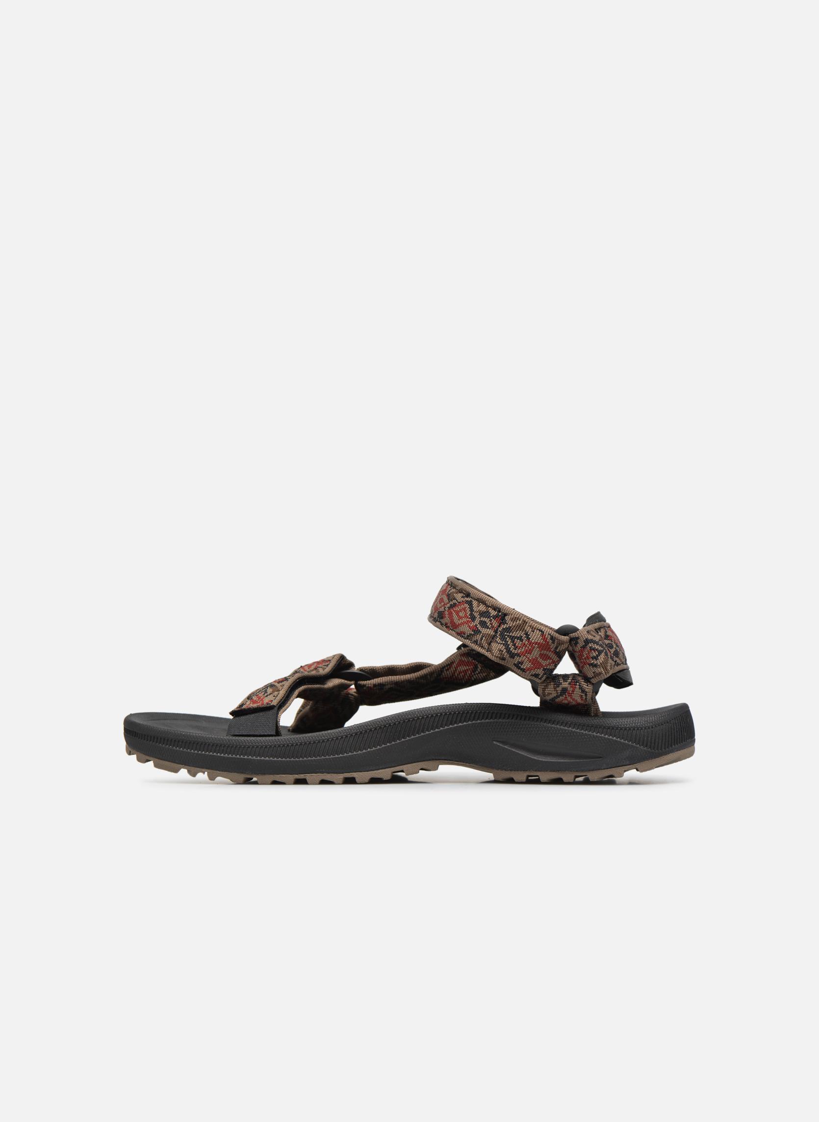 Sandales et nu-pieds Teva Winsted Marron vue face