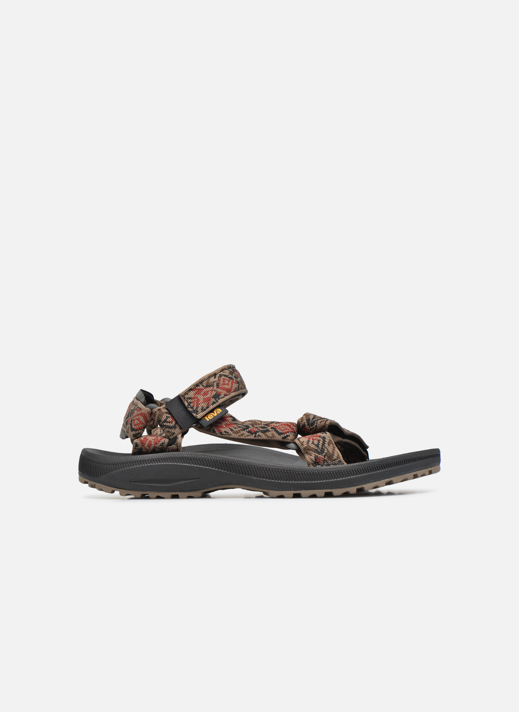 Sandales et nu-pieds Teva Winsted Marron vue derrière