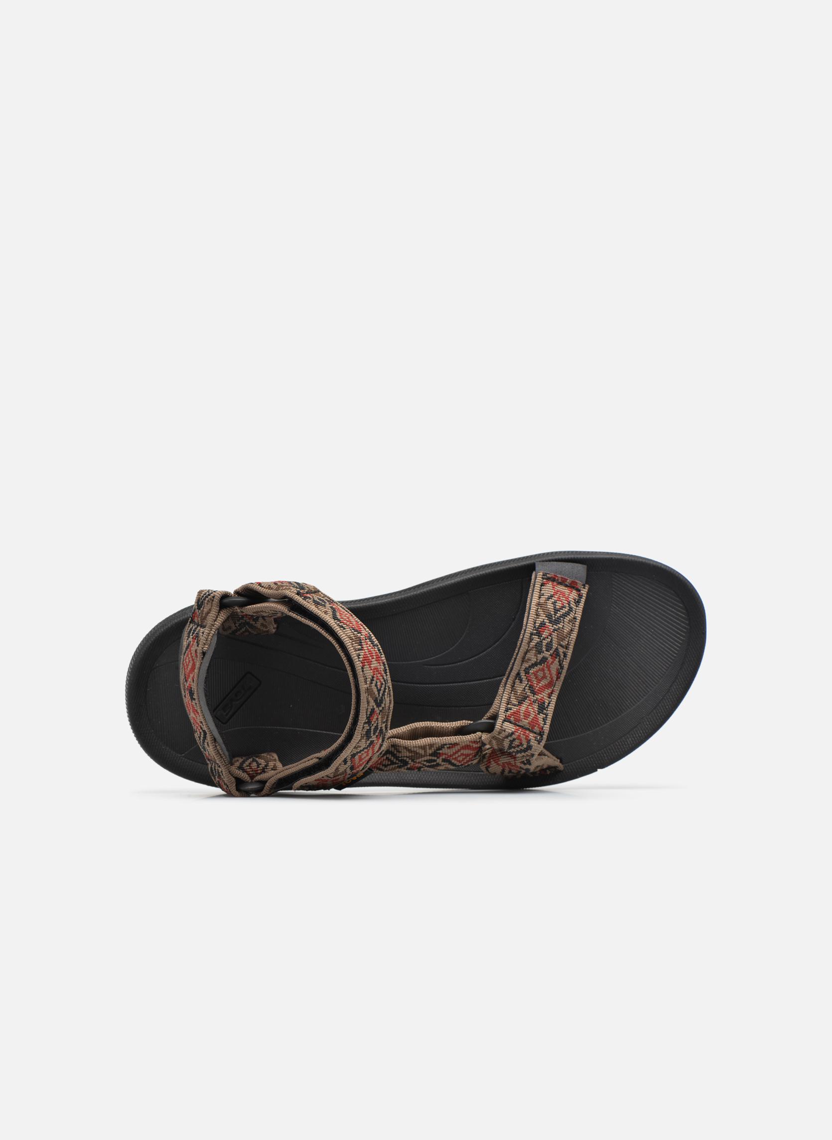 Sandales et nu-pieds Teva Winsted Marron vue gauche