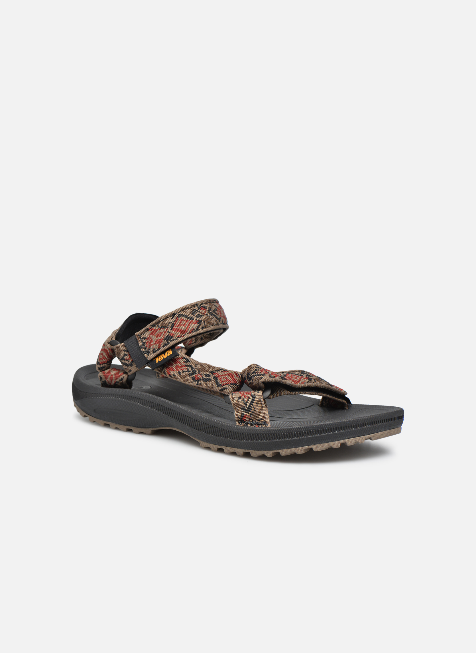 Sandales et nu-pieds Teva Winsted Marron vue détail/paire