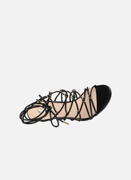 Sandales et nu-pieds Guess Aeyla Noir vue gauche