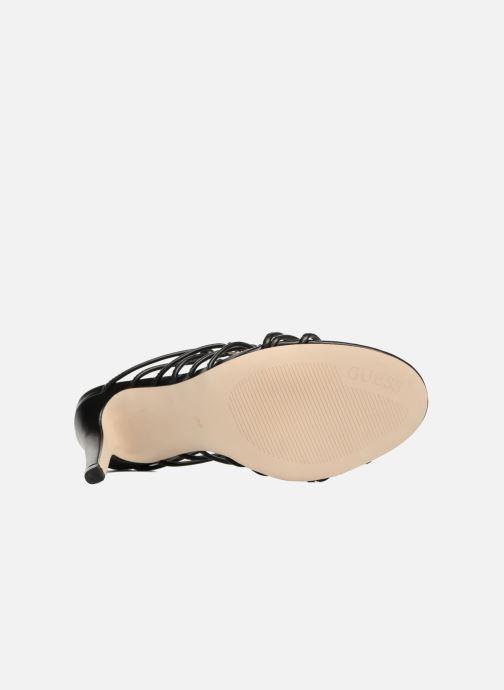 Sandales et nu-pieds Guess Aeyla Noir vue haut