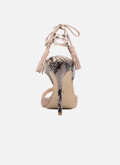 Sandales et nu-pieds Guess Amee Beige vue droite