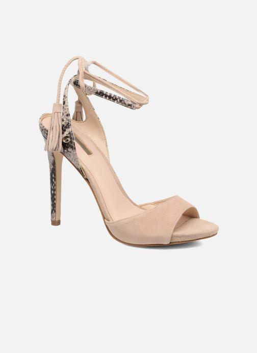 Sandales et nu-pieds Guess Amee Beige vue détail/paire