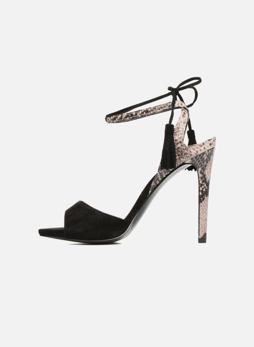 Guess Amee (Noir) Sandales et nu pieds chez Sarenza (287082)
